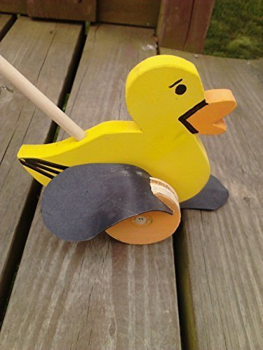Wooden Push/Flapper toy- DUCK