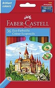 Faber-Castell - Set de 36 lápices ecológicos de colores