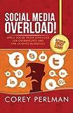Social Media Overload: Simple Social Media Strategies For Overwhelmed and Time Deprived Businesses