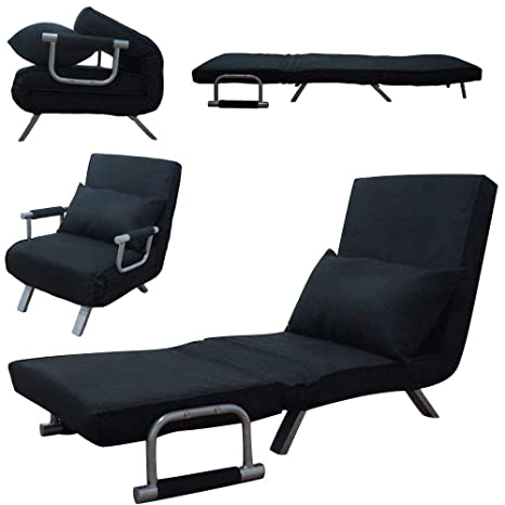 Amazon.com: Lounge Chair,Adjustable Folding Dual-Purpose ...