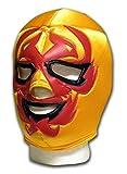 Dos Caras Dark Gold adult mexican luchador Wrestling mask by Luchadora