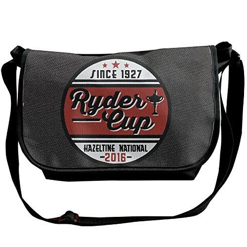 Amurder Personalized Hazeltine Ryder Cup 2016 Messenger Shoulder Bag Black ()