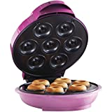 Brentwood TS-250 Mini Donut Maker Machine, Non-Stick, Pink