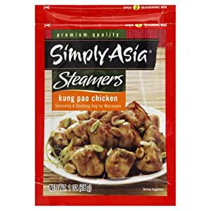 Simply Asia Chicken Steamer, Kung Pao, 1-ounces (Pack of6)