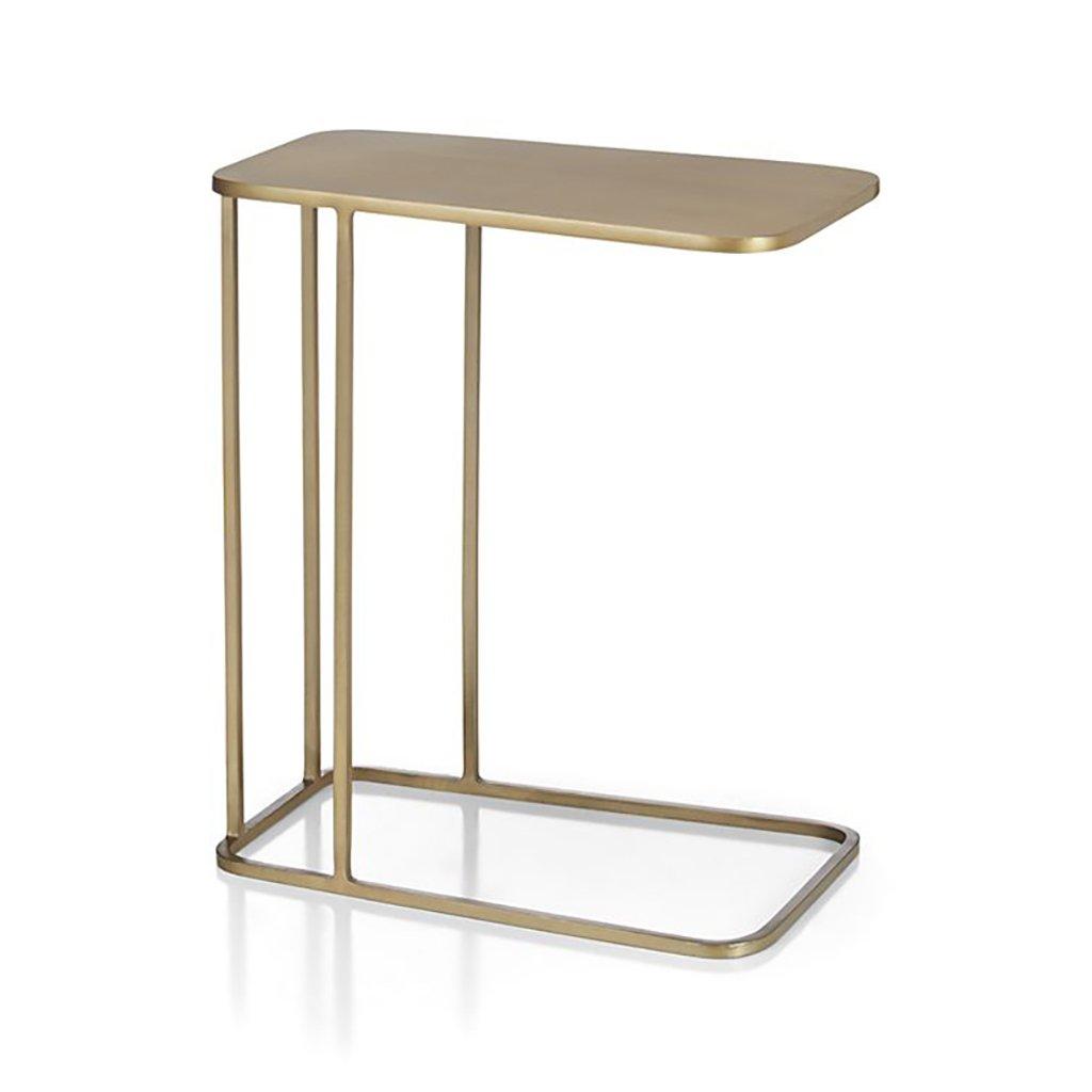 Cozyhome AA Tavolino Mini in Ferro battuto Tavolino Nordico tavolino Quadrato Piccolo 50  30  58cm Casa