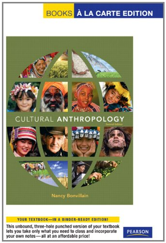 Cultural Anthropology: Books a La Carte Edition