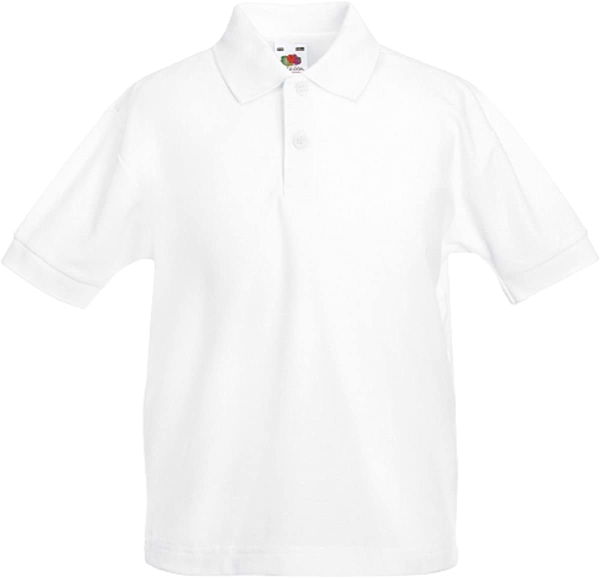 Fruit of the Loom - Polo - Manga Corta - para Hombre Blanco ...