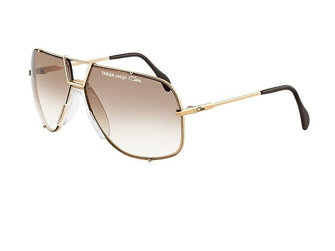 Cazal Targa Design 902 Sunglasses Shiny Gold w/Brown Gradient (097) 66mm Authentic