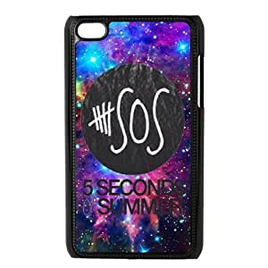 Hard Plastic Protector Snap On Cover Case For Ipod Touch 4,4th Generation [5sos]