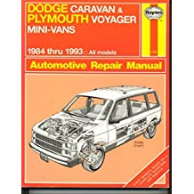 Amazon curt choate books dodge caravan and plymouth voyager mini vans 1984 thru 93 haynes no 1231 fandeluxe Image collections