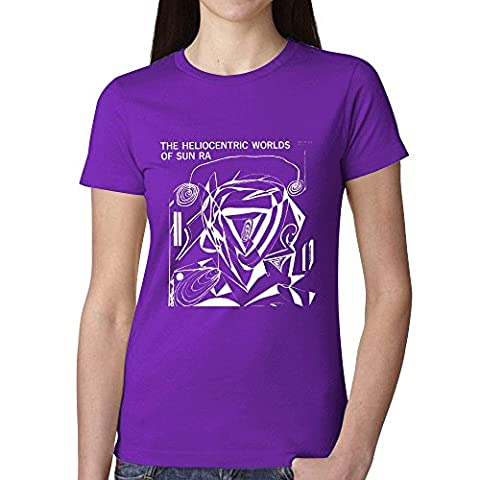 Sun Ra The Heliocentric Worlds Of Sun Ra Volume 1 T Shirts For Women Purple (Brad Mehldau Sheet Music)