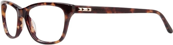 Amazon.com: BCBG Maxazria Esmee BCESM Eyeglass Tortoise Frame Size ...
