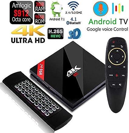 TX9 Pro 4K Octa Core 32GB Android 7.1 Dual Wifi 5G Bluetooth 1080p 4K 3D TV Box