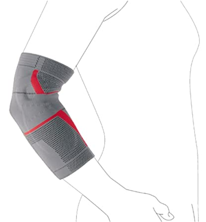 Buy Ottobock Epi Sensa Elbow Support With Gel Pads -Unisex, grey - S
