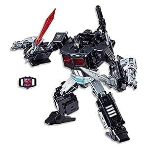 "TRANSFORMERS - 9"" Nemesis Prime & Decepticon Giza Action Figure - Generations Power of The Primes Evolution - Amazon Exclusive - Kids Toys - Ages 8+"
