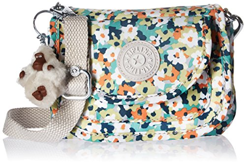 Kipling Barrymore Printed Mini Crossbody Bag, Medwflwrgr