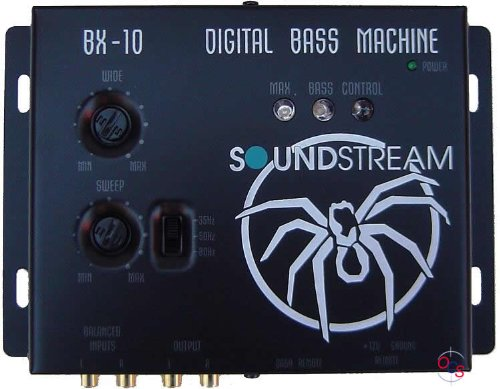 - Soundstream BX-10 Digital Bass Reconstruction Processor with Remote