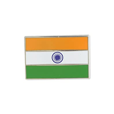 amazon com indian flag india ashoka chakra enamel lapel pin 1 pin