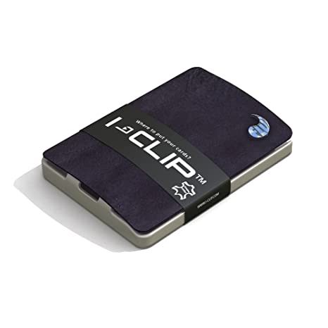70560bddab1c48 I-Clip, Porta carte di credito Púrpura 9 cm: Amazon.it: Valigeria