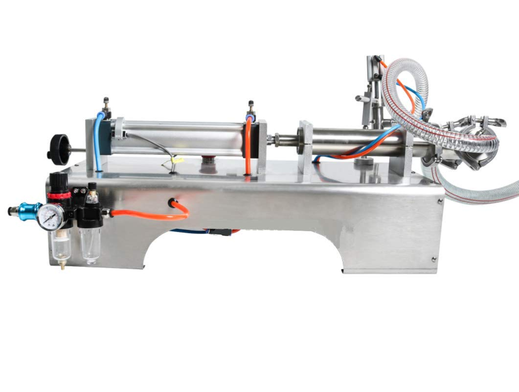 KUNHEWUHUA Pneumatic Liquid Water Oil Filling Machine 1000-5000ml Single Nozzle 110V/220V by KUNHEWUHUA (Image #3)