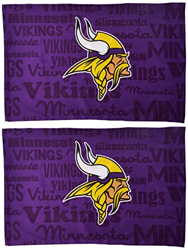 Northwest NFL Minnesota Vikings 2-piece Pillowcase
