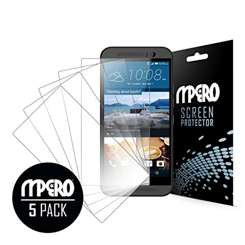 EMPIRE MPERO Ultra Clear Screen Protector Case for HTC One M9 - 5 Pack