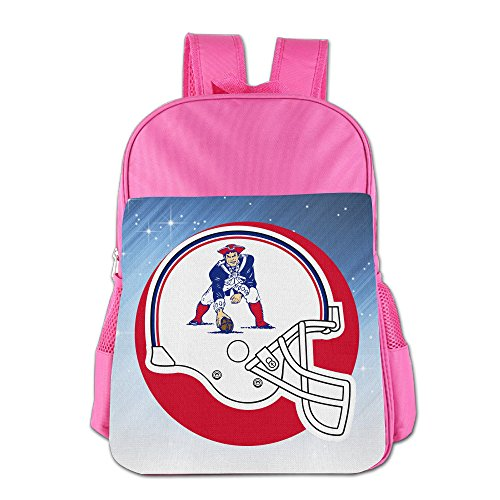 Fuoalf New England Pat Patriot Kids Children Boys Girls Shoulder Bag School Backpack Bags