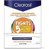 Clearasil Stubborn Acne Control 5in1 Spot Treatment Cream, 1 oz