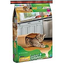 Friskies Dry Cat Food, Indoor Delights, 16-Pound Bag, Pack of 2