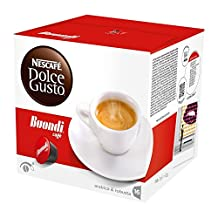 Nescafe DOLCE GUSTO Pods / Capsules - BUONDI Coffee = 16 pods (pack of 3 = Total: 48 pods)