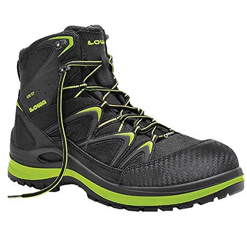 Elten 5903-45 Chaussures de sécurité Lowa Innox Work GTX Lime Mid S3 Taille 45