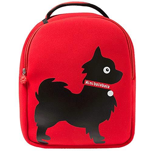 Minibalabala Toddler Kids Backpack Cute School Travel Backpack Multicolored (Color03)