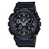 Casio G-Shock Black Military GA100L-1A Watch