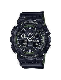 Casio G-Shock Black Military GA100L-1A Watch