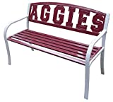 "Leigh Country A&M University ""Aggie"" Metal Bench"