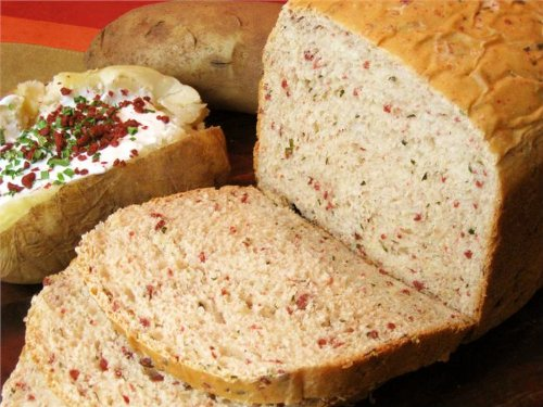 The Prepared Pantry Fully Loaded Baked Potato Bread Machine Mix (for oven also) (18.4 oz) ()