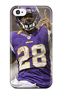 New Arrival Case Cover With WjWjyea5368PggHW Design For Iphone 4/4s- Adrian Peterson Football