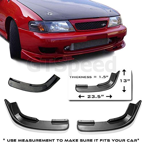Universal Front bumper Add-on Polyurethane Lip