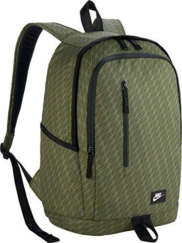 Nike Nk All Access Soleday Bkpk-P Mochila, Hombre, Verde (Legion Green / Black / White), Talla Única Verde (Legion Green / Black / White)