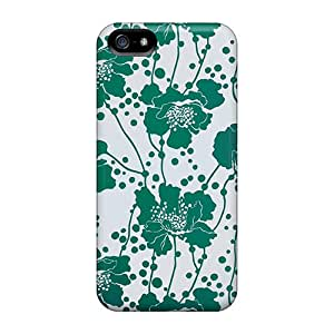 Awesome Design Kate Spade Green Floral Hard Case Cover For Iphone 5/5s