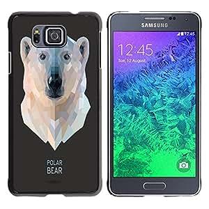 Dragon Case - FOR Samsung ALPHA G850 - First love is unforgettable - Caja protectora de pl??stico duro de la cubierta Dise?¡Ào Slim Fit