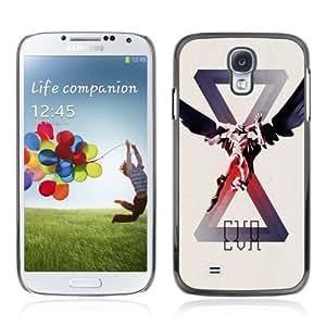 CQ Tech Phone Accessory: Carcasa Trasera Rigida Aluminio Para Samsung Galaxy S4 i9500 - Cool Gaming Illustration