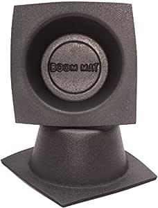 "Design Engineering 050331 Boom Mat Speaker Baffles, 6.5"" Round Slim (Pack of 2),Black"