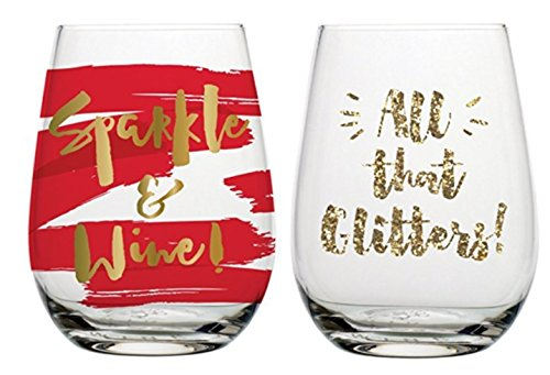 set-of-2-stemless-wine-glasses-sparkle-wine-all-that-glitters-20-oz-each
