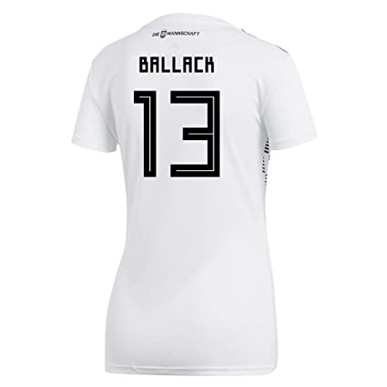 adidas MULLER  13 Germany Home Women s Soccer Jersey World Cup Russia 2018  ... 33bd9f4b3c