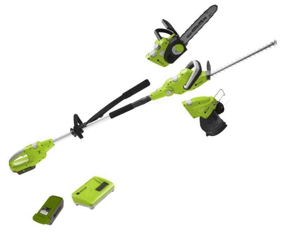 Freischneider Sierra-Gartenschere Heckenschere Zipper zi-gps40V-akku 3in 1Akku 40V