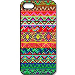 S9Y Retro Vintage Aztec Geometric Tribal Hard Case Back Cover Plastic Shield For iPhone 5C RE-B