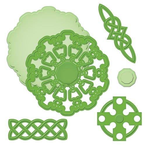- Spellbinders S5-163 Shapeabilities Celtic Motifs Die Templates