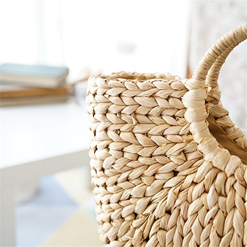 Tassel Women's Shoulder Amuele Hand Tote Bag Bag Large Straw Rattan Bucket Bag z11wqZA