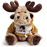 Bear of Allan Jointed Stuffed Animal Toy 8 Inch (Moose)